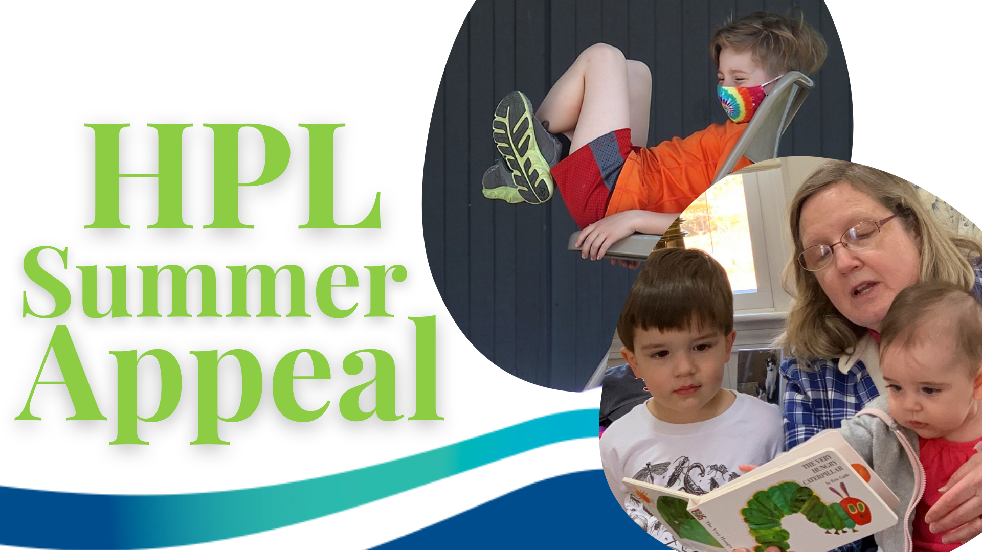 Summer Appeal title with pictures of children