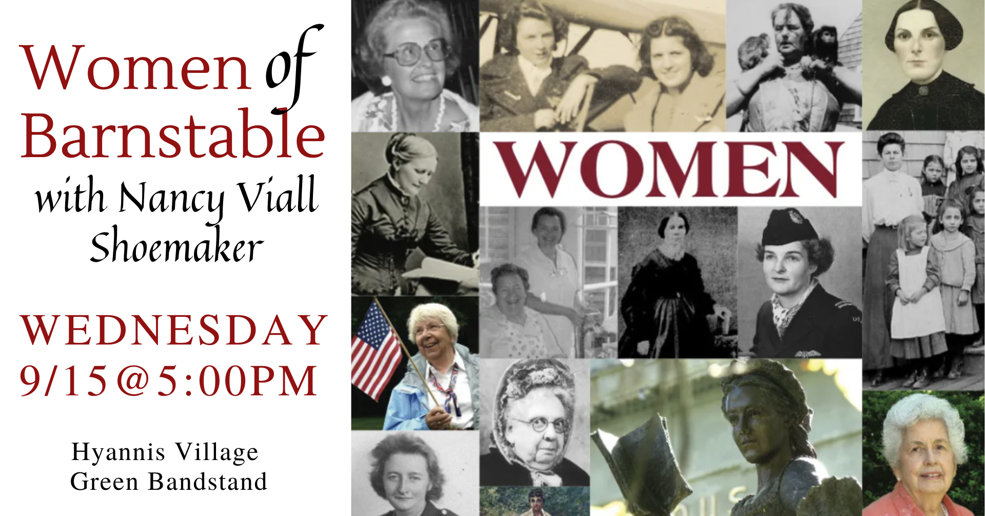 Women of Barnstable event cover.